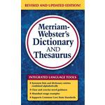 Merriam-Webster's Dictionary and Thesaurus Product Image