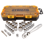 """34pc ToughSystem 1/4"""" and 3/8"""" Drive Socket Set Product Image"""