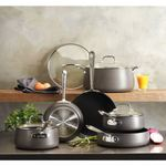 HA1 Non-Stick Hard Anodized 10-Piece Cookware Set Product Image