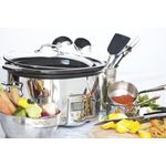 4 Qt. Slow Cooker with Black Ceramic Insert Product Image