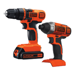 20V MAX Drill/Driver + Impact Driver Combo Kit Product Image