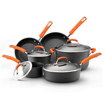 10 Pc. Hard Anodized II Cookware Set Product Image