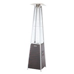 Coronado Brushed Bronze Pyramid Flame Patio Heater Product Image