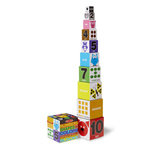 Nesting & Stacking Blocks - Numbers Shapes Colors Ages 2-4 Years