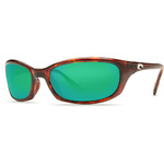 Harpoon Tortoise Green Mirror 580G Sunglasses Product Image