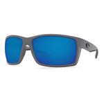 Reefton Matte Gray Sunglasses w/ Blue 580P Lens Product Image