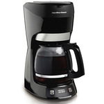 12 Cup Programmable Coffeemaker Black Product Image