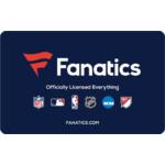 Fanatics eGift Card $25