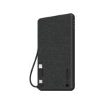 mophie Powerstation Plus Mini - Black Fabric (4,060mAh) Product Image