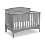 Archer 4-in-1 Convertible Crib Gray Product Image