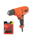 """5.2 Amp 3/8"""" Drill/Driver w/ Drilling Set Product Image"""