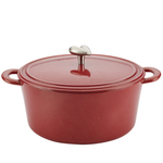 6qt Cast Iron Dutch Oven Sienna Red Product Image