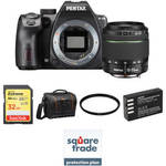 K-70 DSLR Camera with 18-55mm Lens Deluxe Kit (Black) Product Image