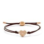 Glitz Heart Wrist Wrap Bracelet Product Image
