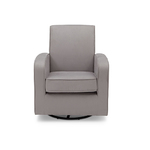 Chloe Nursery Upholstered Glider Dove Gray Product Image