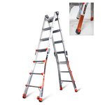 Revolution M17 Articulating Ladder w/Ratchet Levelers Product Image
