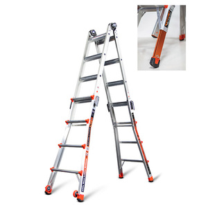 Revolution M17 Articulating Ladder w/Ratchet Levelers Product Image