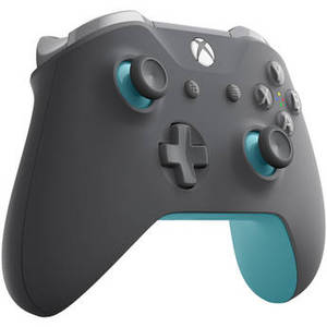 Xbox One Wireless Controller (Gray/Blue) Product Image
