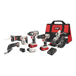 20V Max 6-Tool Combo Kit w/ USB Device Product Image