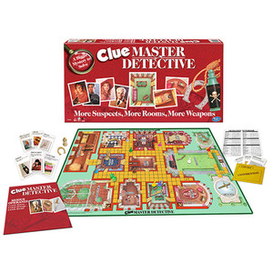 Clue Master Detective Board Game Ages 10+ Years Product Image