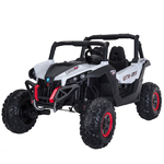 White Wild Cross UTV 12V Two Seater Product Image
