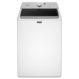 4.7 Cu Ft Top Load Electric Washer w/ PowerWash White Product Image