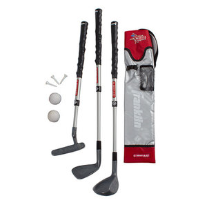 Youth Golf Set Gray/Red Product Image