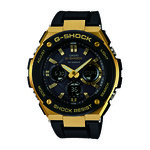 G-Shock G-Steel Solar Watch Black/Gold