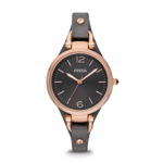Fossil Women's Georgia Three Hand Leather Watch