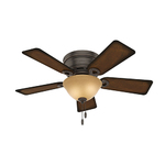 "Conroy 42"" Ceiling Fan Onyx Bengal Product Image"