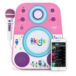 Kids Bluetooth Sing-Along System Pink and Purple Ages 4+ Years Product Image