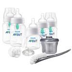 Anti-Colic Newborn Bottle Starter Set Clear