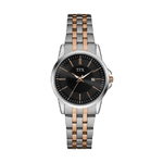 TFX by Bulova Ladies Two-Tone Stainless Steel Watch Black Dial Product Image