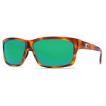 Cut Honey Tortoise Sunglasses Green Mirror 580P Lens Product Image