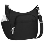 Anti-Theft Classic Crossbody Bucket Bag Black Product Image