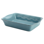 "9"" x 13"" Cucina Rectangular Baker Agave Blue Product Image"