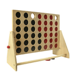 Wood 4 in a Row Game Product Image