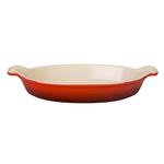 1.7qt Heritage Stoneware Au Gratin Dish Cerise Product Image