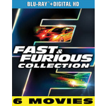 Fast & Furious 6-Movie Collection Product Image