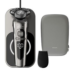 S9000 Prestige Qi-Charging Electric Shaver Product Image