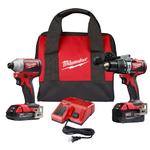 M18 Brushless 2-Tool Combo Kit - Hammer Drill/Impact Driver Product Image