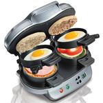 Double Breakfast Sandwich Maker Product Image