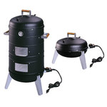 2-In-1 Electric Water Smoker Product Image