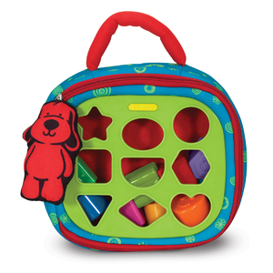Take-Along Shape Sorter Ages 9+ Months Product Image