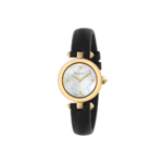 Gucci Ladies Diamantissima Black Leather Watch Product Image