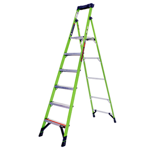 MightyLite 8ft Type 1A Fiberglass Ladder Product Image