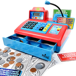 Talking Cash Register Red/Blue Product Image