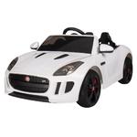 White 1:4 Jaguar F-Type Race Car Product Image