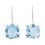 Blue Topaz Earrings Product Image