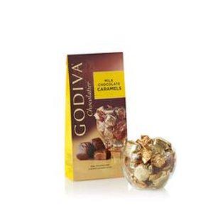 GODIVA 20 Piece Milk Chocolate Wrapped Caramels Product Image